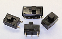 Fully Enclosed Micro Miniature Slide Switches
