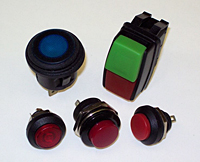 GPB Series Sealed Push Button Switches