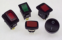 GRB Series Miniature Rocker Switches