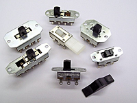 Top Actuated Momentary Slide Switches